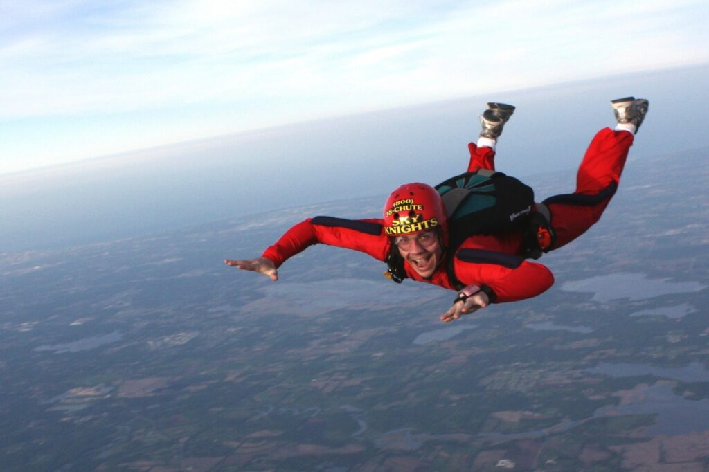 Best Skydiving Quotes Captions